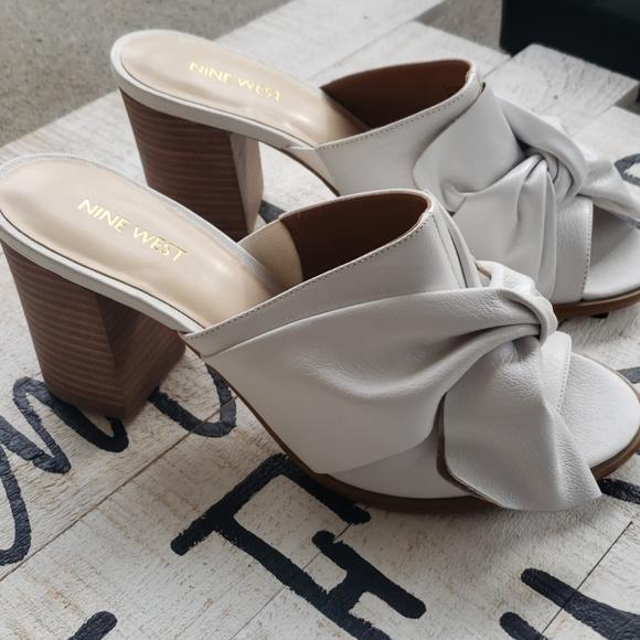 Nine West Shoes   Byron White Mule New
